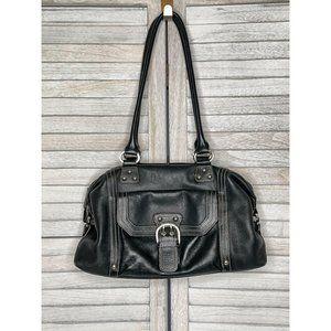 TIGNANELLO Black Leather Purse Handbag Pocketbook